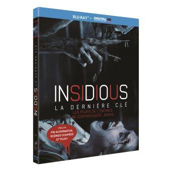 InsidiousInsidious La dernière clé Blu-ray