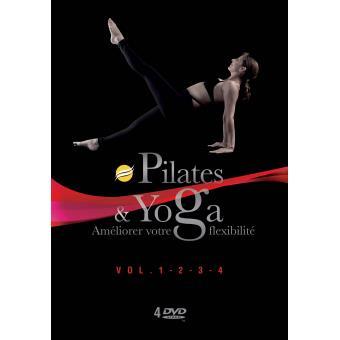 Coffret Power yoga et pilates DVD