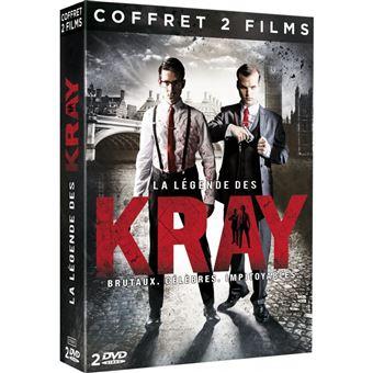 La Légende des KrayCoffret La Légende des Kray 2 Films DVD