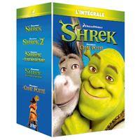 Coffret 100% Shrek L'intégrale des 5 films DVD