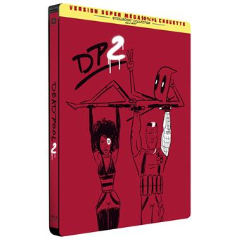 DeadpoolDeadpool 2 Steelbook Edition Limitée Blu-ray