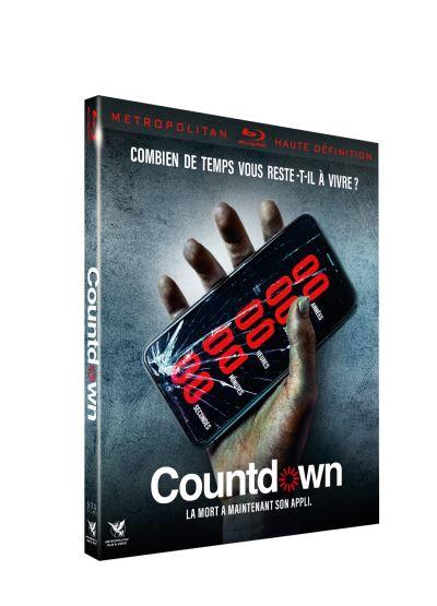 blu-ray du film countdown
