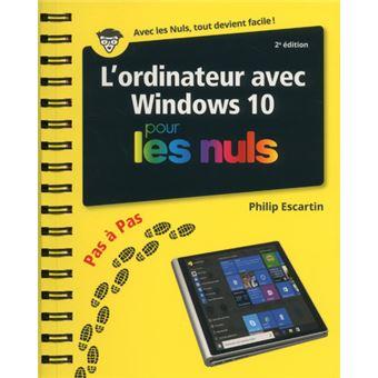 windows 10 pour les nuls poche 3e edition