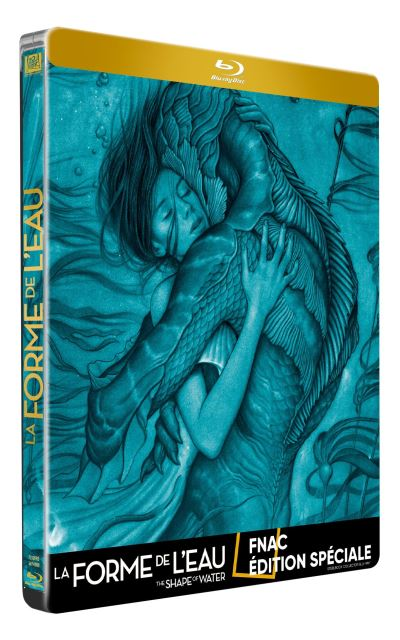 La forme de l'eau (The Shape of Water) La-Forme-de-l-eau-Edition-Fnac-Steelbook-Blu-ray