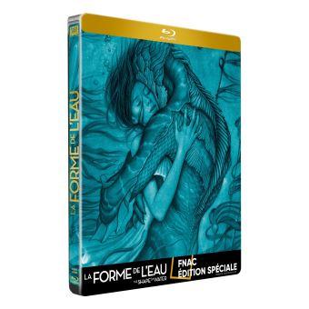 Vos Commandes et Achats [DVD/BR] - Page 3 La-Forme-de-l-eau-Edition-Fnac-Steelbook-Blu-ray