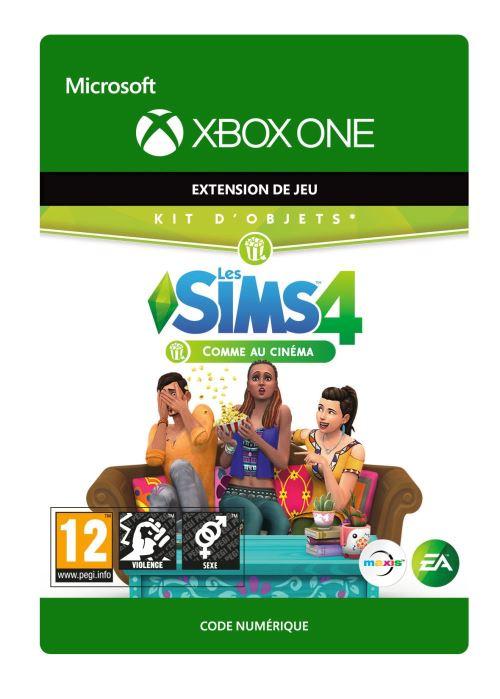 Code de téléchargement Les Sims 4 : Comme au Cinéma Xbox One