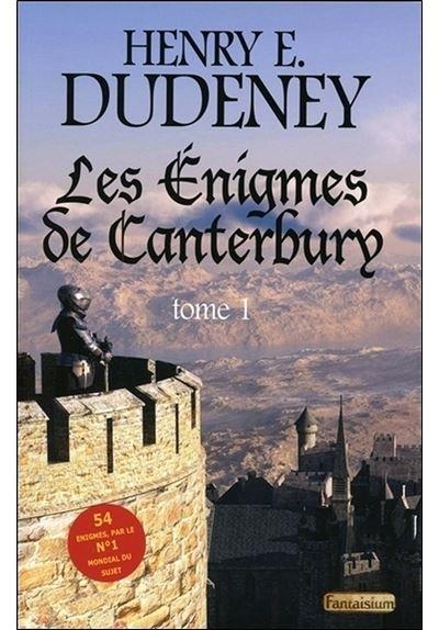 Les Enigmes de Canterbury Tome 1 - 54 énigmes par le n°1 mondial du sujet