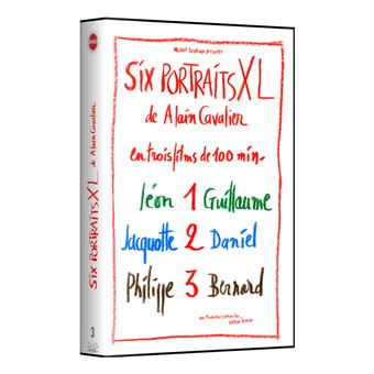 Coffret Six portraits XL d'Alain Cavalier DVD