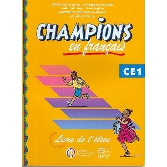 Champions Au Tchad En Francais Livre Eleve Ce1