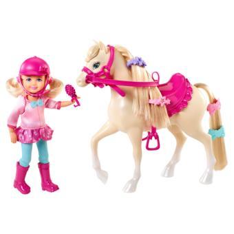Barbie Chelsea en haar Pony Mattel
