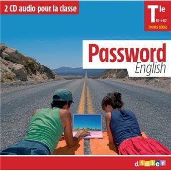 Password English Tle - 2 CD classe