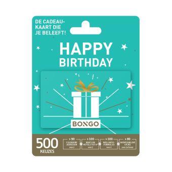 Bongo NL Giftcard GC Happy Birthday