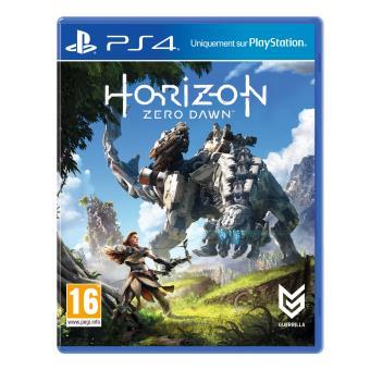 horizon zero dawn ps4 sur playstation 4 jeux vid o. Black Bedroom Furniture Sets. Home Design Ideas