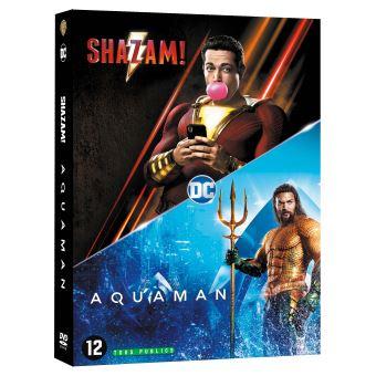 Justice leagueCoffret Nouveaux Héros 2 Films DVD