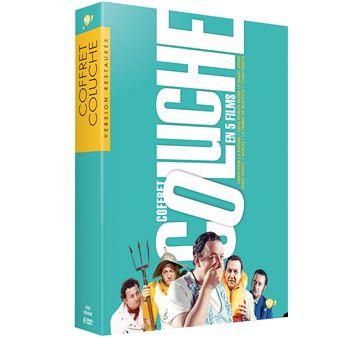Coluche/coffret digipack 5 films et 1 dvd bonus