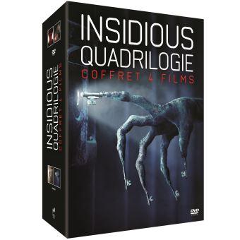 InsidiousCoffret Quadrilogie Insidious DVD