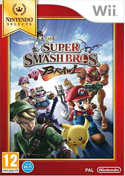 Super Smash Bros Brawl Edition Selects Wii