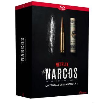 NarcosCoffret Narcos Saisons 1 à 3 Blu-ray