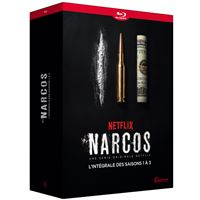 Coffret Narcos Saisons 1 à 3 Blu-ray