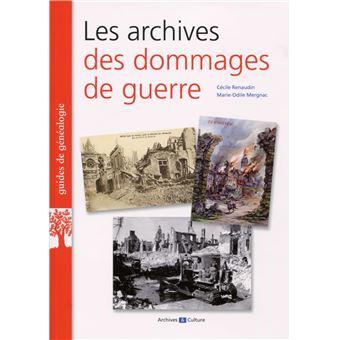 Les archives des dommages de guerre