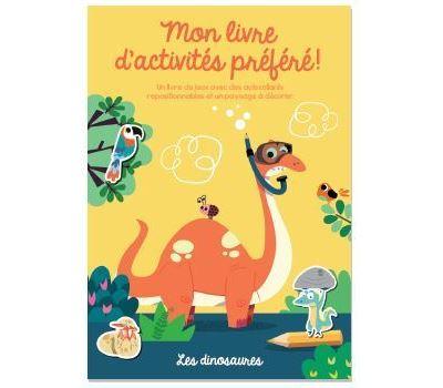 Livre d'activites prefere ! (mon) les dinosaures
