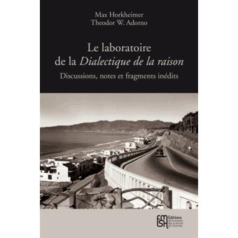 DIALECTIQUE DE LA RAISON ADORNO PDF DOWNLOAD