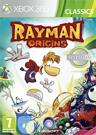 Rayman Origins Gamme Classics Xbox 360