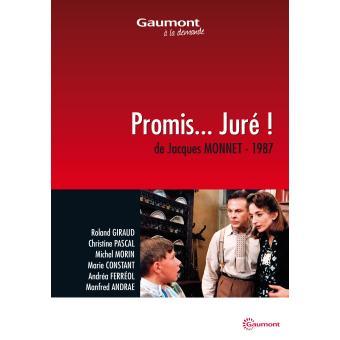 Promis... juré ! DVD