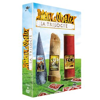Coffret Astérix La Trilogie DVD