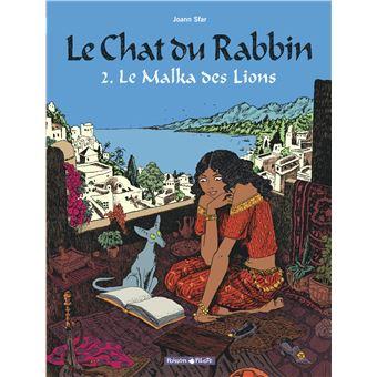 Le chat du RabbinLe malka de lions