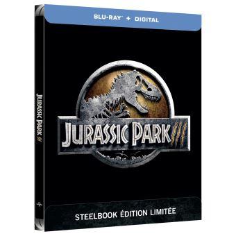 Jurassic ParkJurassic Park III Steelbook Blu-ray