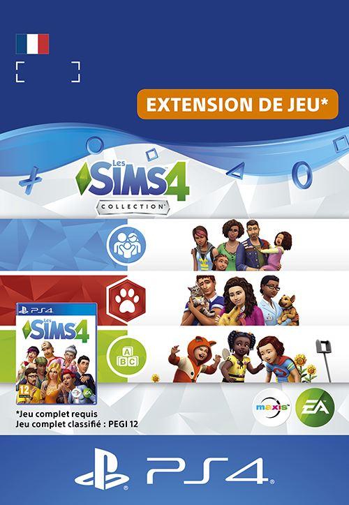 Code de téléchargement Les Sims 4 Kit Chiens et chats PS4