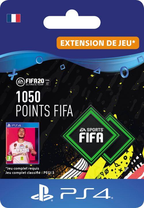 Code de téléchargement FIFA 20 Ultimate Team 1050 points PS4