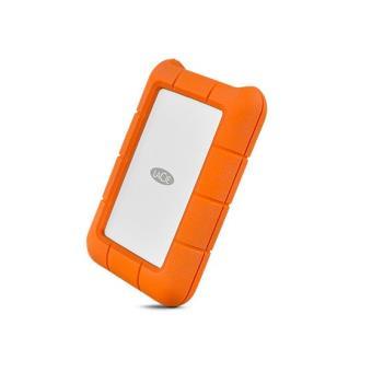 LaCie Rugged 4TB USB-C oranje draagbare harde schijf