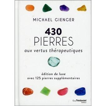 """Résultat de recherche d'images pour """"430 pierres aux vertus thérapeutiques : avec 125 pierres supplémentaires"""""""