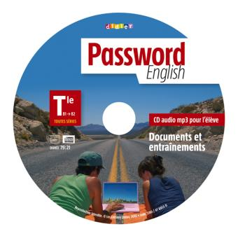 Password English Tle - CD mp3 de remplacement