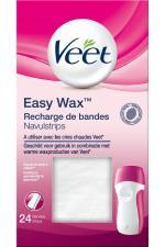VEET Recharge de bandes Veet easy Wax X24