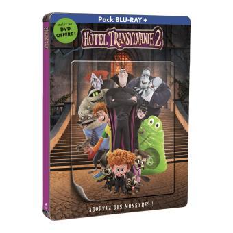 Hôtel TransylvanieHôtel Transylvanie 2 - Steelbook lenticulaire Edition Limitée Blu-ray