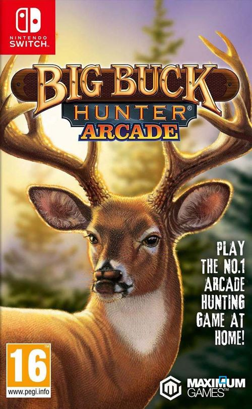 Big Buck Hunter Arcade Nintendo Switch