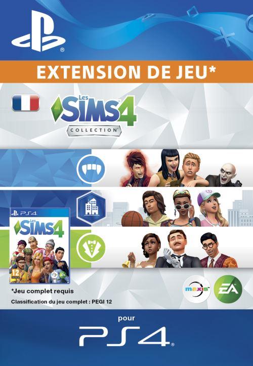 Les Sims 4 Collection PS4 code de téléchargement