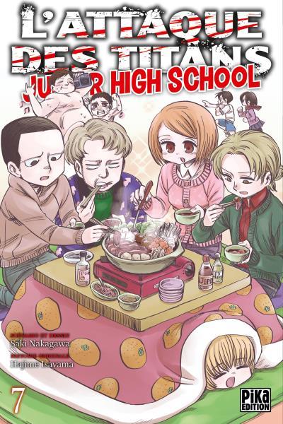 L'Attaque des Titans - Tome 07 : L'Attaque des Titans - Junior High School