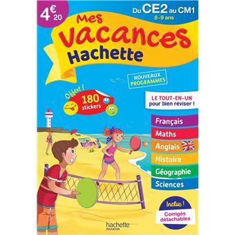 Mes Vacances Hachette CE2-CM1 Le Tout-en-un