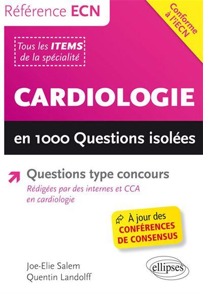 Cardiologie en 1000 questions isolées