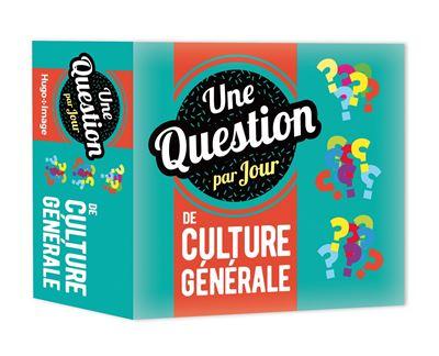 Une question par jour de Culture Générale 2020