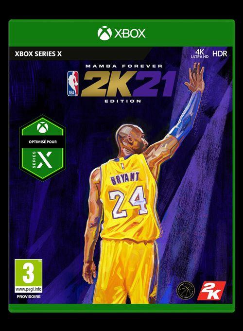 NBA 2K21 Mamba Forever Legend Edition Xbox Series X