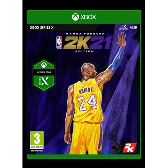 NBA 2K21 Mamba Forever Legend Edition Xbox Series X