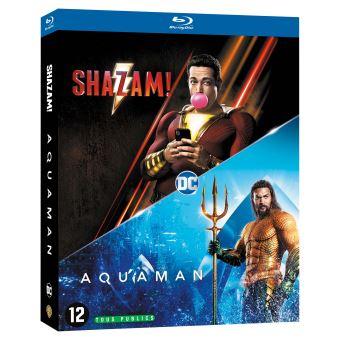 Justice leagueCoffret Nouveaux Héros 2 Films Blu-ray