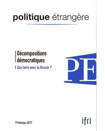 Décompositions démocratiques