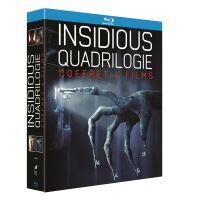 Coffret Quadrilogie Insidious Blu-ray