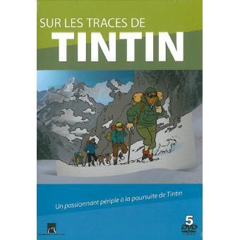 TintinTINTIN-SUR LES TRACES DE TINTIN-5 DVD-VF